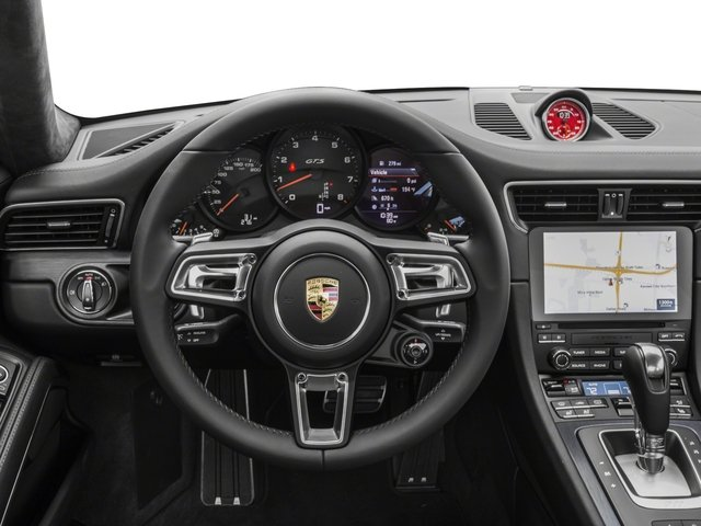 2018 Porsche 911 Base Price Carrera GTS Coupe Pricing driver's dashboard