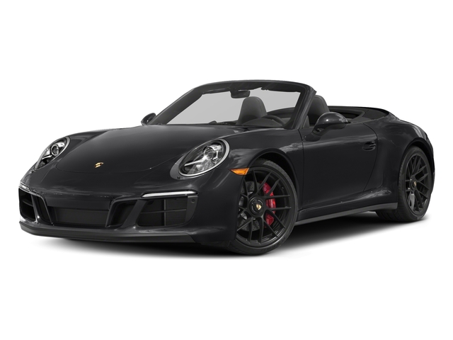 2018 Porsche 911 Base Price Carrera GTS Cabriolet Pricing side front view