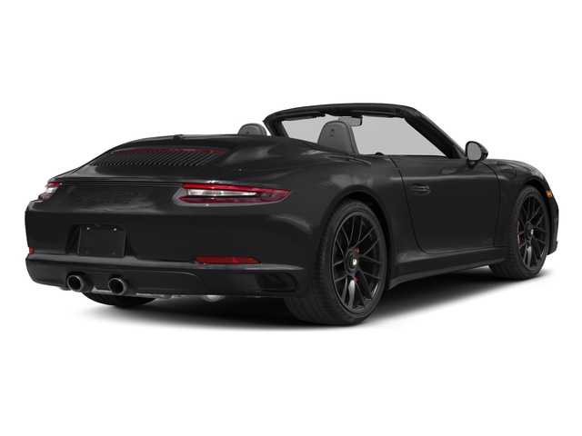 2018 Porsche 911 Pictures 911 Carrera GTS Cabriolet photos side rear view