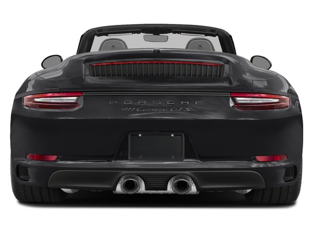 2018 Porsche 911 Pictures 911 Carrera GTS Cabriolet photos rear view