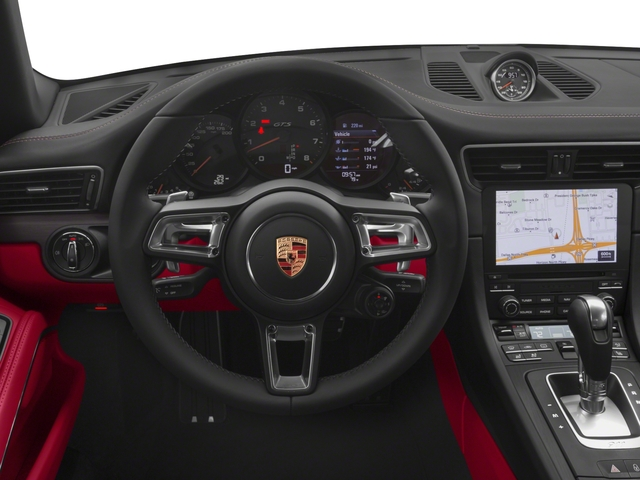 2018 Porsche 911 Pictures 911 Carrera GTS Cabriolet photos driver's dashboard
