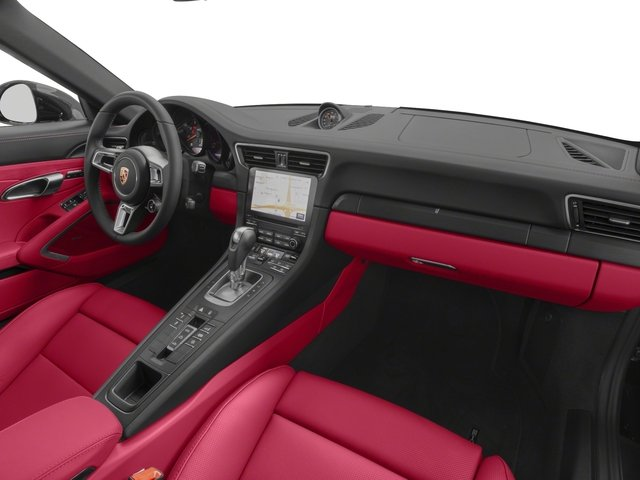 2018 Porsche 911 Prices and Values Cabriolet 2D GTS H6 passenger's dashboard