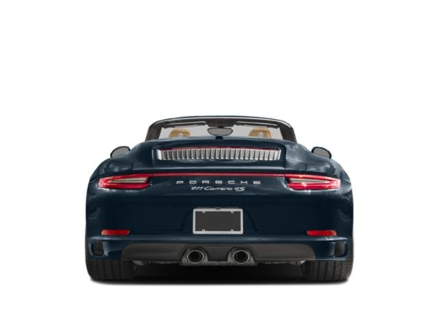 2018 Porsche 911 Base Price Carrera T Coupe Pricing rear view