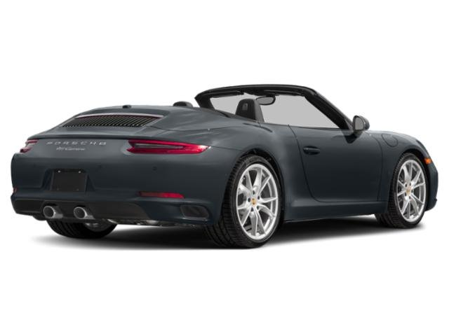2018 Porsche 911 Base Price Carrera 4 GTS Cabriolet Pricing side rear view