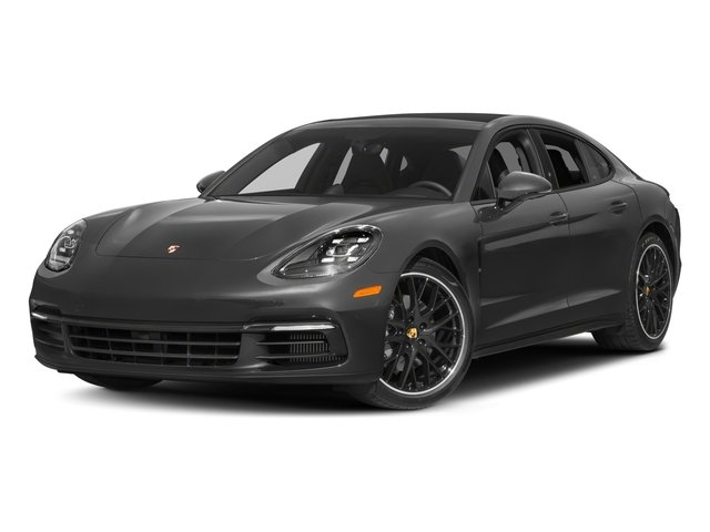 2018 Porsche Panamera Pictures Panamera 4S Executive AWD photos side front view