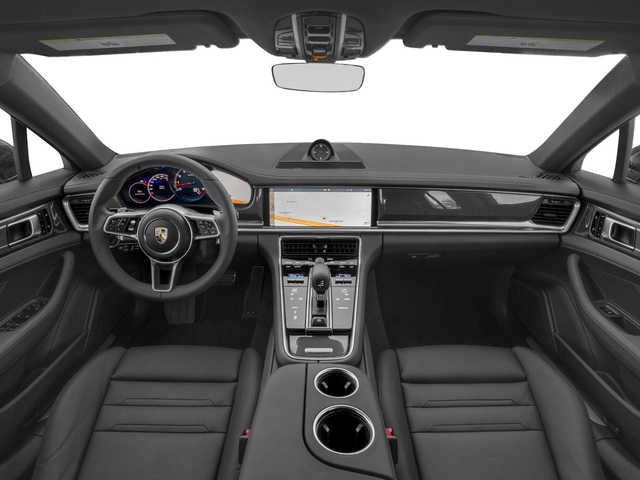 2018 Porsche Panamera Pictures Panamera 4S Executive AWD photos full dashboard