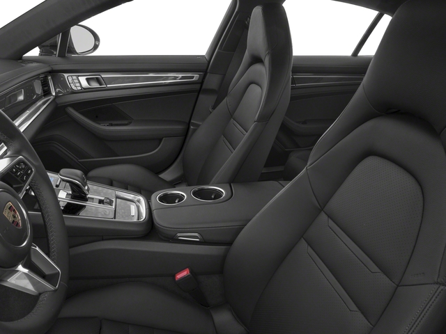 2018 Porsche Panamera Base Price 4 AWD Pricing front seat interior