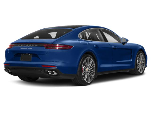 2018 Porsche Panamera Prices and Values Hatchback 4D 4S AWD side rear view