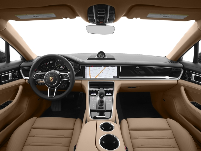 2018 Porsche Panamera Pictures Panamera 4 E-Hybrid AWD photos full dashboard