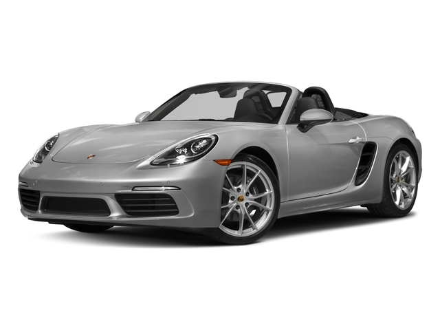2018 Porsche 718 Boxster Base Price Roadster Pricing side front view