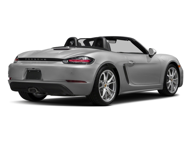 2018 Porsche 718 Boxster Base Price Roadster Pricing side rear view