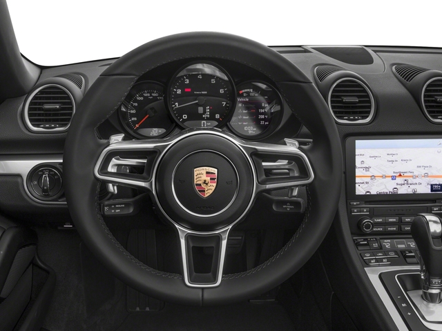 2018 Porsche 718 Boxster Base Price Roadster Pricing driver's dashboard