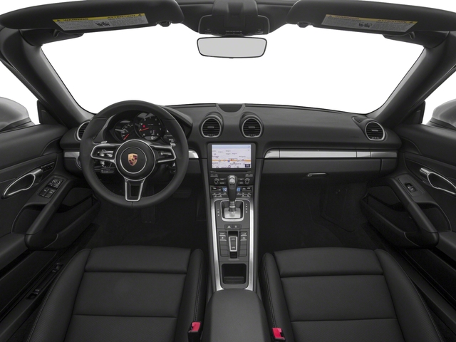 2018 Porsche 718 Boxster Base Price Roadster Pricing full dashboard