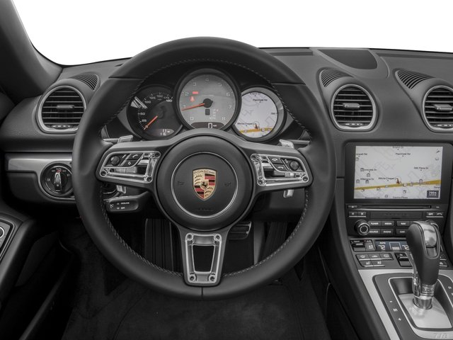 2018 Porsche 718 Boxster Pictures 718 Boxster S Roadster photos driver's dashboard