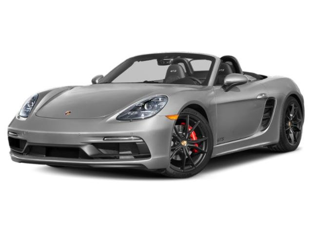 2018 Porsche 718 Boxster Pictures 718 Boxster S Roadster photos side front view