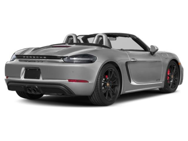 2018 Porsche 718 Boxster Pictures 718 Boxster S Roadster photos side rear view
