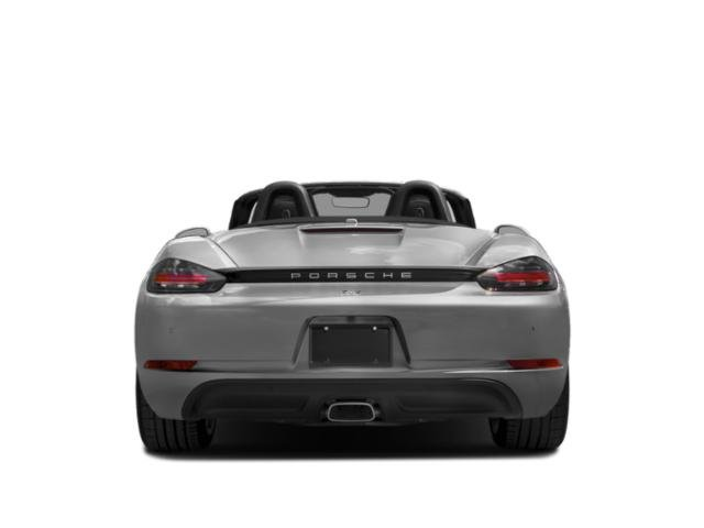 2018 Porsche 718 Boxster Prices and Values Roadster 2D H4 Turbo rear view