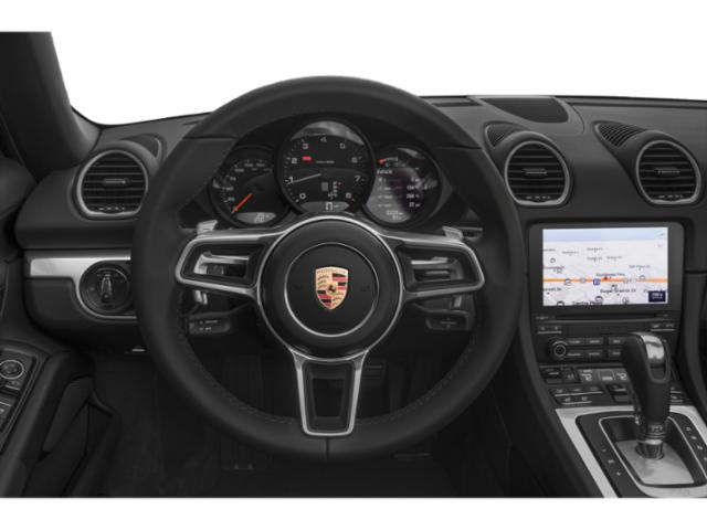 2018 Porsche 718 Boxster Prices and Values Roadster 2D H4 Turbo driver's dashboard