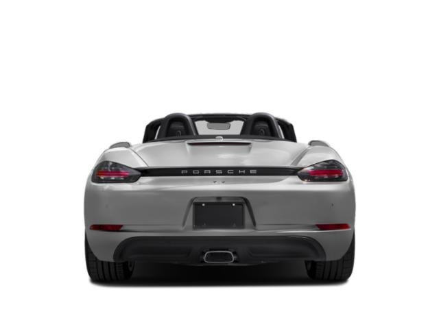 2018 Porsche 718 Boxster Base Price S Roadster Pricing rear view