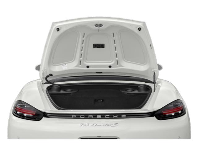 2018 Porsche 718 Boxster Prices and Values Roadster 2D H4 Turbo open trunk