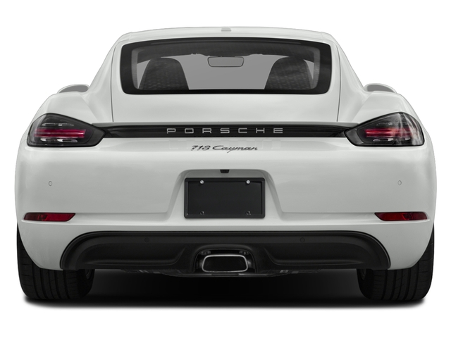2018 Porsche 718 Cayman Base Price Coupe Pricing rear view
