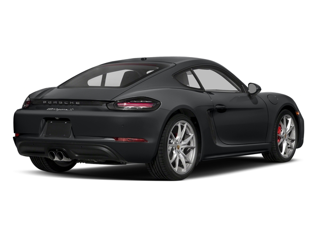 2018 Porsche 718 Cayman Base Price S Coupe Pricing side rear view