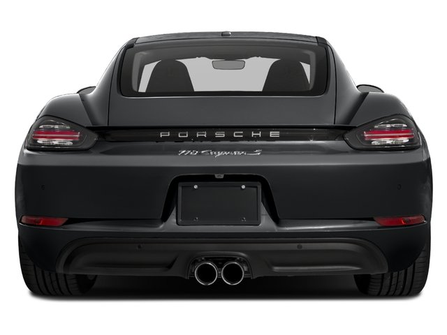 2018 Porsche 718 Cayman Base Price S Coupe Pricing rear view
