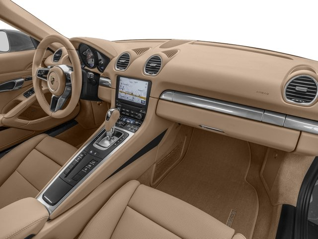 2018 Porsche 718 Cayman Prices and Values Coupe 2D S H4 Turbo passenger's dashboard