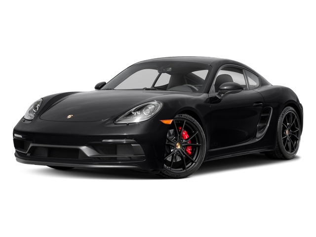 2018 Porsche 718 Cayman Base Price GTS Coupe Pricing side front view
