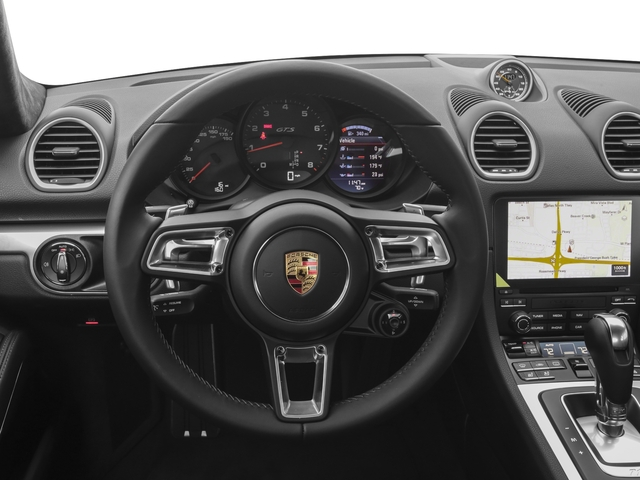 2018 Porsche 718 Cayman Base Price GTS Coupe Pricing driver's dashboard