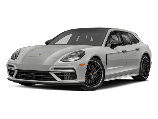 2018 Porsche Panamera Pictures Panamera 4 Sport Turismo AWD photos side front view
