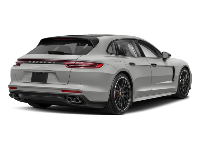 2018 Porsche Panamera Pictures Panamera 4 Sport Turismo AWD photos side rear view