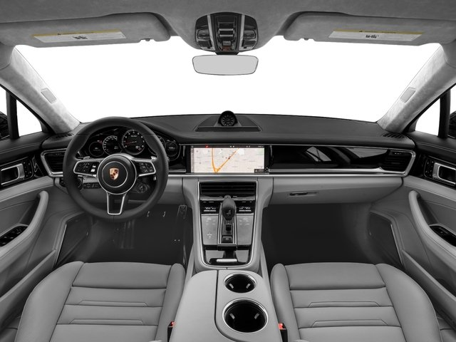 2018 Porsche Panamera Base Price Turbo Sport Turismo AWD Pricing full dashboard