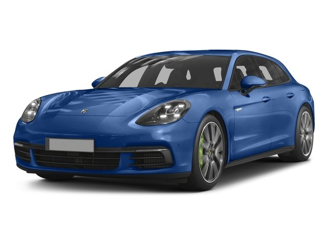 2018 Porsche Panamera Pictures Panamera 4 E-Hybrid Sport Turismo AWD photos side front view