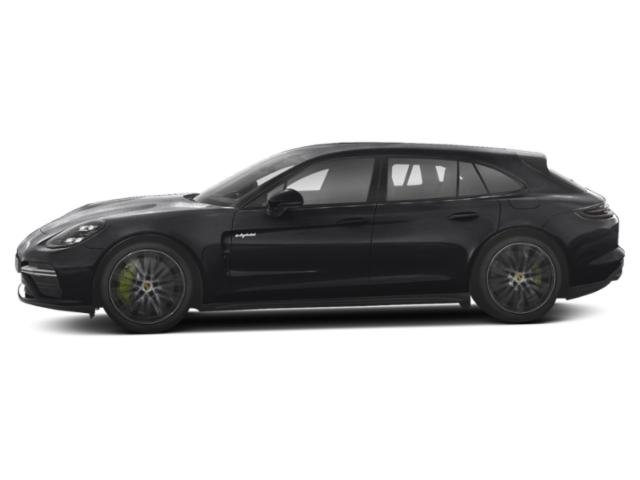 2018 Porsche Panamera Pictures Panamera Turbo S E-Hybrid Sport Turismo AWD photos side view