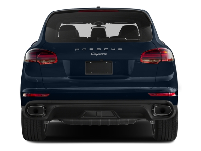 2018 Porsche Cayenne Base Price AWD Pricing rear view