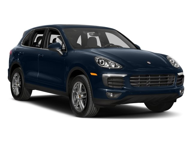2018 Porsche Cayenne Prices and Values Utility 4D AWD V6 side front view