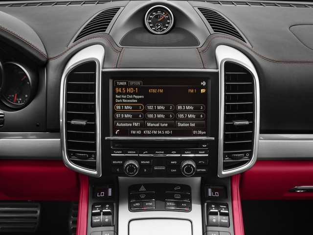 2018 Porsche Cayenne Prices and Values Utility 4D GTS AWD V6 Turbo stereo system
