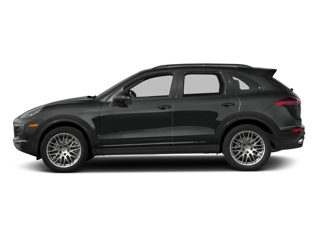 2018 Porsche Cayenne Pictures Cayenne Utility 4D Platinum AWD V6 photos side view