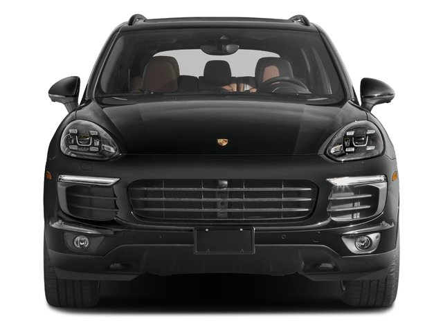 2018 Porsche Cayenne Pictures Cayenne Platinum Edition AWD photos front view