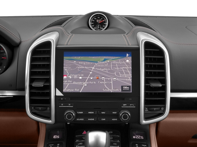 2018 Porsche Cayenne Base Price Platinum Edition AWD Pricing navigation system
