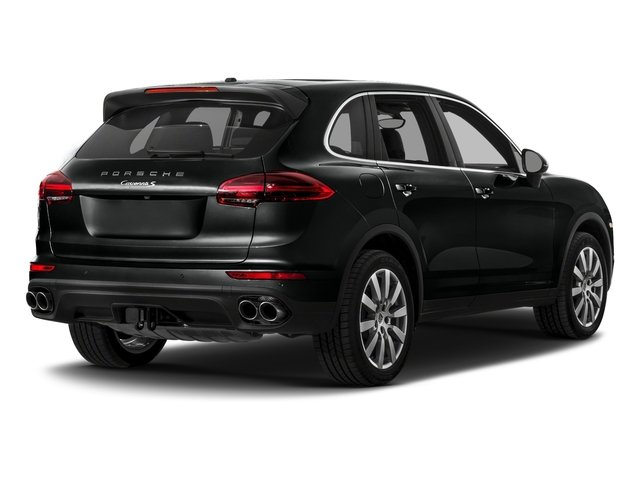 2018 Porsche Cayenne Base Price S AWD Pricing side rear view
