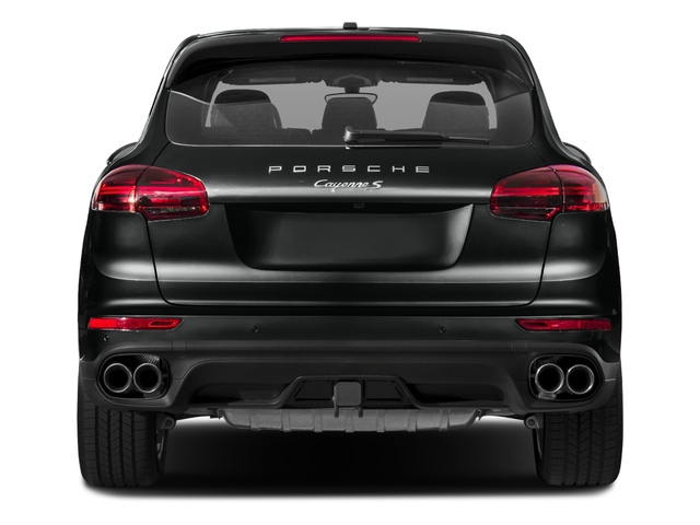 2018 Porsche Cayenne Base Price S AWD Pricing rear view