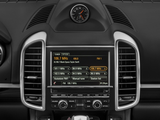 2018 Porsche Cayenne Prices and Values Utility 4D S AWD V6 Turbo stereo system