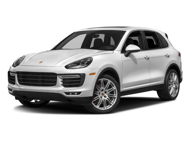 2018 Porsche Cayenne Base Price Turbo S AWD Pricing side front view