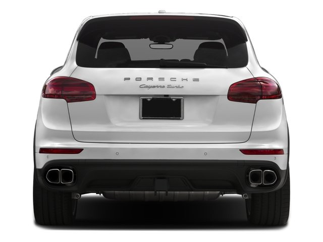 2018 Porsche Cayenne Pictures Cayenne Utility 4D S AWD V8 Turbo photos rear view