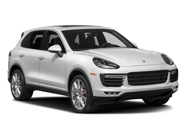 2018 Porsche Cayenne Prices and Values Utility 4D S AWD V8 Turbo side front view