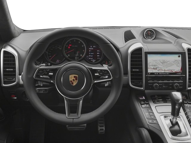 2018 Porsche Cayenne Base Price Turbo AWD Pricing driver's dashboard