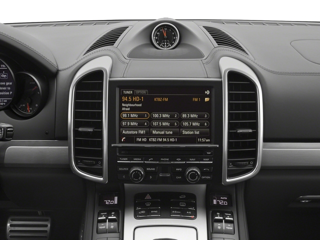 2018 Porsche Cayenne Base Price Turbo S AWD Pricing stereo system