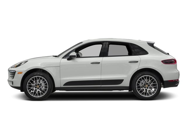 2018 Porsche Macan Pictures Macan Turbo AWD w/Performance Pkg photos side view